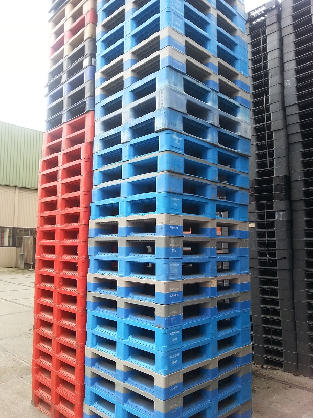 Schwer 100 × 120 Kunststoffpalette Last 1500 kg