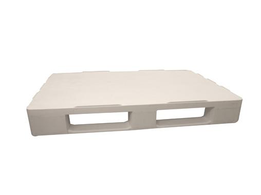 Kunststoff hygiene palette 80×120 geschlossen deck