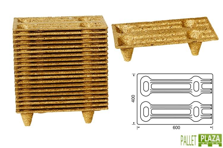Holzfaser-Paletten